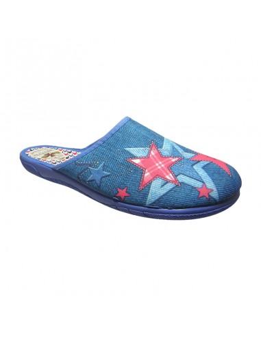 Zapatilla descalza mujer estrellas
